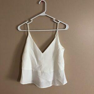 Zara white Tank top M size
